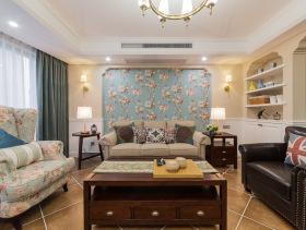 温馨唯美美式乡村田园风格三居室室内设计