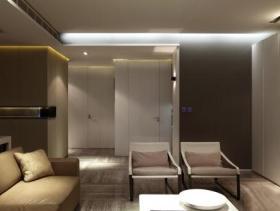 纯净大方现代三居室家装设计效果大全