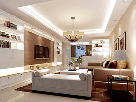 2016欧式浪漫三室一厅装修设计