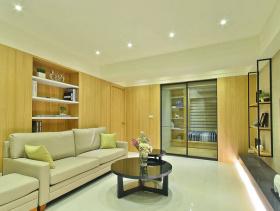 清新舒适简约风格两室一厅装饰布置
