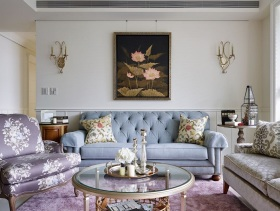 优雅精致83平美式二居装修图集