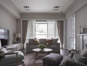 美式休闲浪漫两居室设计欣赏