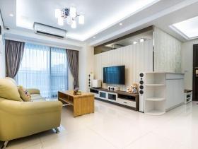 古典元素简约风格三居室装修案例
