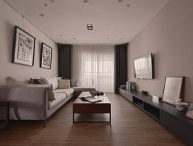 2016现代简约两居室设计欣赏