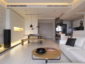 2016简洁现代风格三居装修案例