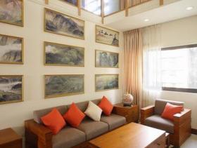 中式禅意复式两居装修设计