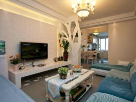89方地中海两居室装修案例
