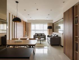 高端气质简约风格三居室装修效果大全