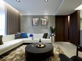 现代摩登质感三居室装修设计效果大全