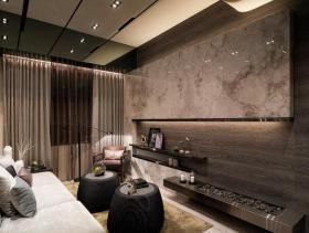 现代休闲意境二居室装修效果图集