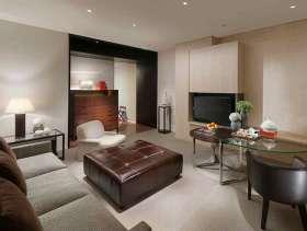 2016现代风格三居室时尚前卫装潢案例