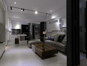89平现代两居装修案例欣赏实景案例