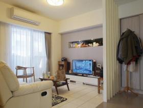 简约现代76平两居室实景案例