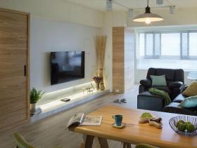 北欧简约两室装修设计实景案例
