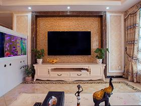 欧式浪漫唯美两居装修设计
