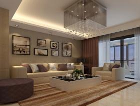 2016现代质感三居室装修案例