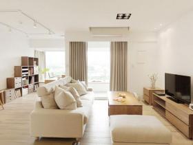 日式简约无印风一居室温馨小宅