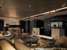 2016质感现代两居室装修案例