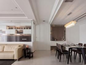 2016现代新古典96平两室实景案例