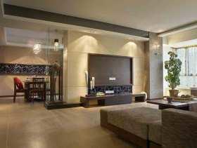 现代风格95方两居室装修设计欣赏