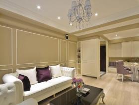 浪漫美式风格两居设计装潢