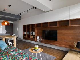 2016简约两室一厅装修效果图