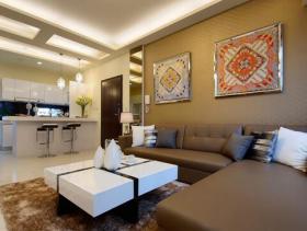 现代质感100平两居装修设计