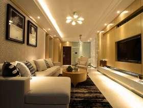 温馨光氛简约二居室装潢设计