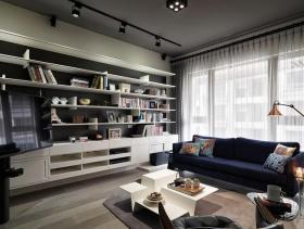 极致时尚现代工业风两室一厅装潢设计示范