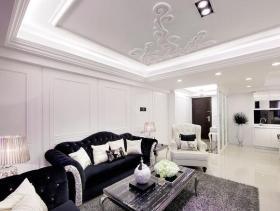 130平新古典主义三居装修案例