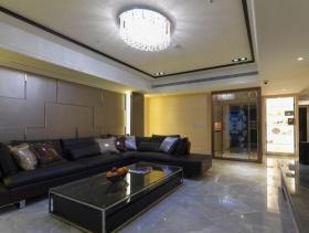 160平新古典三居装修效果展示图