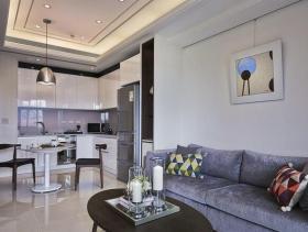 现代新古典89平两居装修案例