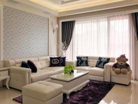 2016现代新古典主义两居装修效果图展示