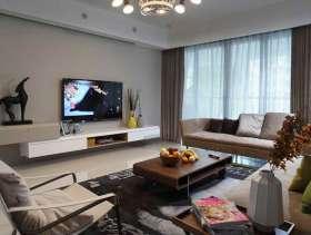 现代纯粹设计三居室装修设计案例欣赏
