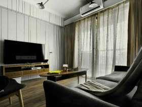 现代风格浪漫时尚立体三居室装修设计