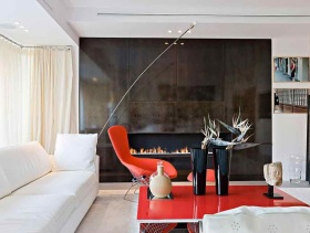 趣味创意简约风格二居室设计