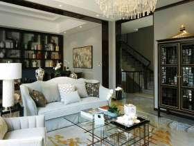 优雅清新混搭新中式别墅设计图集