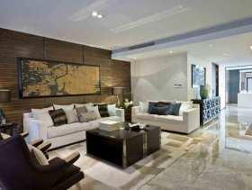 新中式风情三居室装修效果图集