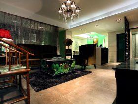 文艺混搭中式三居室装修案例