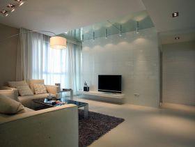 现代简洁三居室装修案例