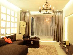 简约包容三室两厅设计案例