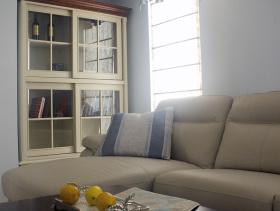 现代简约美式大气风格114方两居室装修效果展示