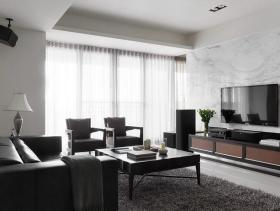 现代简约两居装修设计图展示