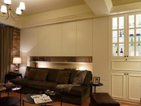 美式温馨三居室装修案例欣赏