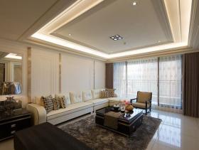 136平现代新古典三居装修案例欣赏