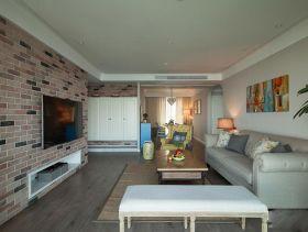 现代纯洁清新两室两厅设计案例