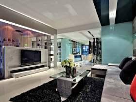 时尚现代摩登风格两居室设计效果展示