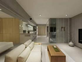 自然舒适简约风格一居优雅设计