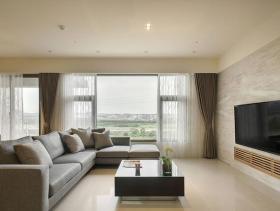 120平现代质感两居室装修案例