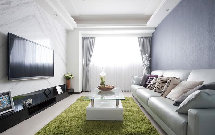 现代时尚都市两居装修